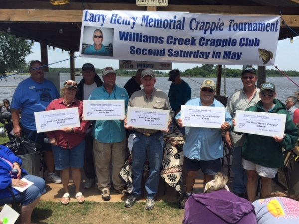 Larry Henry Memorial Crappie Tournament