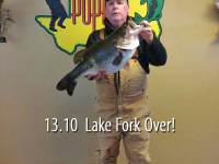 13.10 Bass From Lake Fork