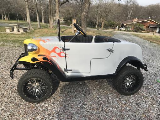 Classic golf carts - Lake Texoma Vacation Rental