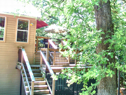 Texoma Treetop Bungalow $125 Weeknight , No Fees