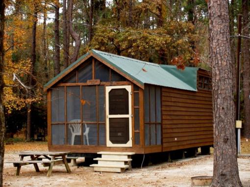 16 cabins at powell park marina and campground - lake sam rayburn