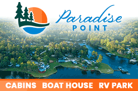 Paradise Point RV Park and Waterfront Cabins