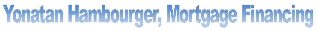 Yonatan Hambourger, mortgage financing