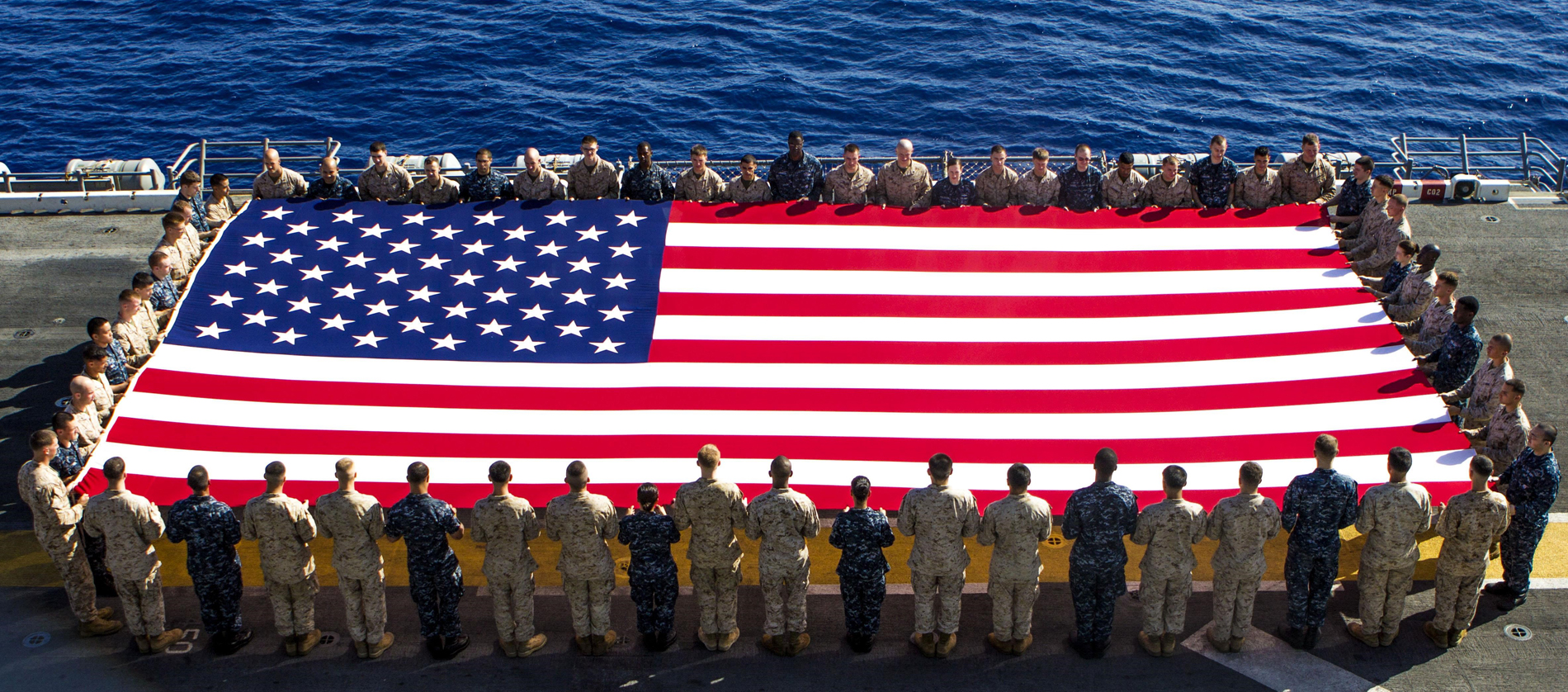 Giant American Flag Photo