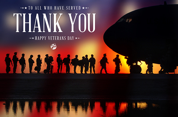 Thank You To Our Veterans - VA Home Loan Program