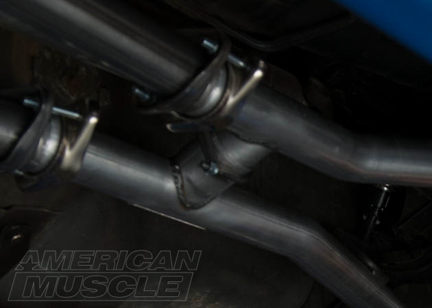 what are the differences between mustang h x y pipes american muscle