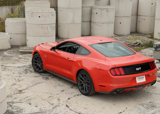 Is The Mt 82 Mustang Transmission The Same In The 2015 S550