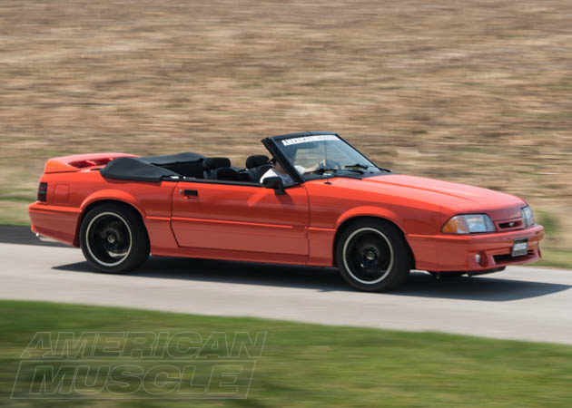 Convertible Foxbody Ready to Tackle the Road