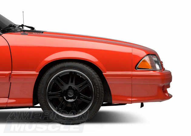 Fox Body 40lug Conversion Process AmericanMuscle Magnificent 2000 Mustang Bolt Pattern