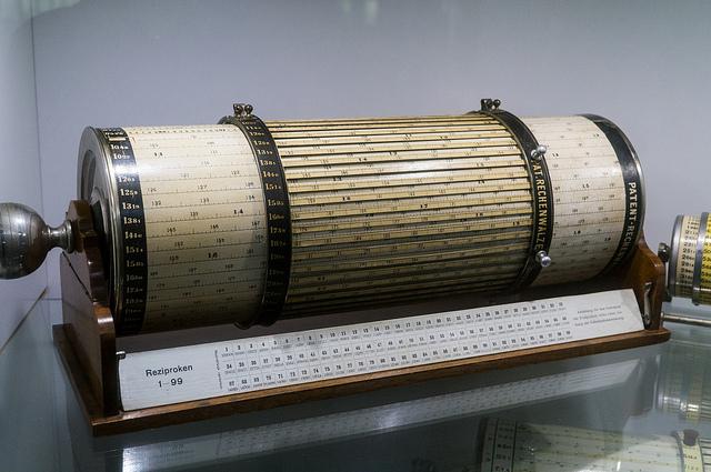 Cylindrical Slide Rule