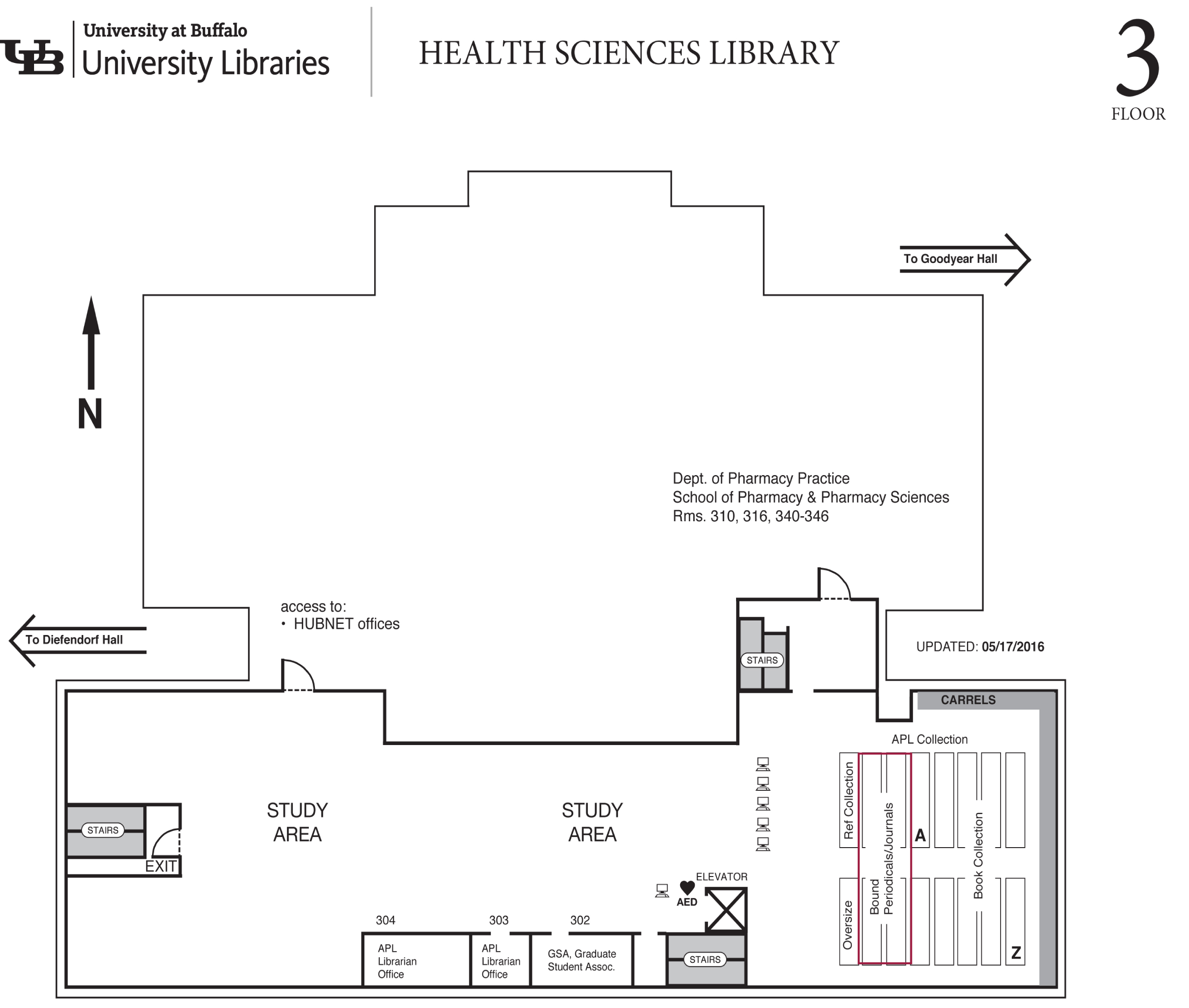 floor plan of 3rd floor Abbott