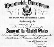 Thind's honorable discharge