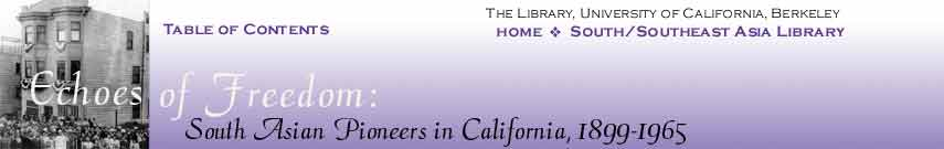 Echoes of Freedom: South Asia Pioneers in California
