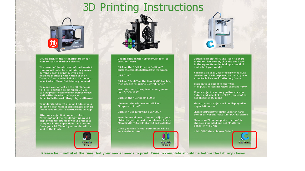 MakerGear Printer - 3D Printing - Research Guides at Stetson