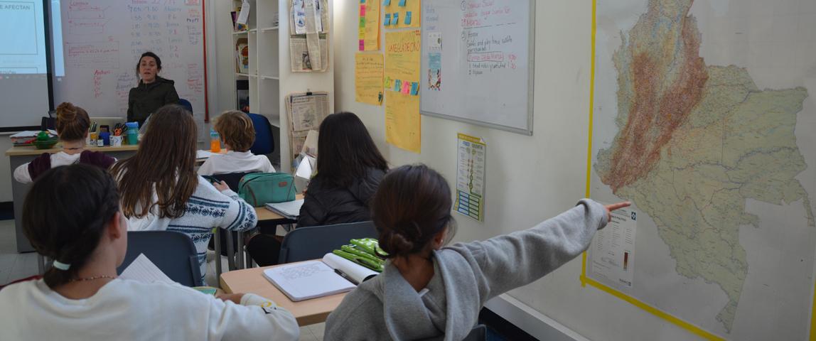 discusión en clase