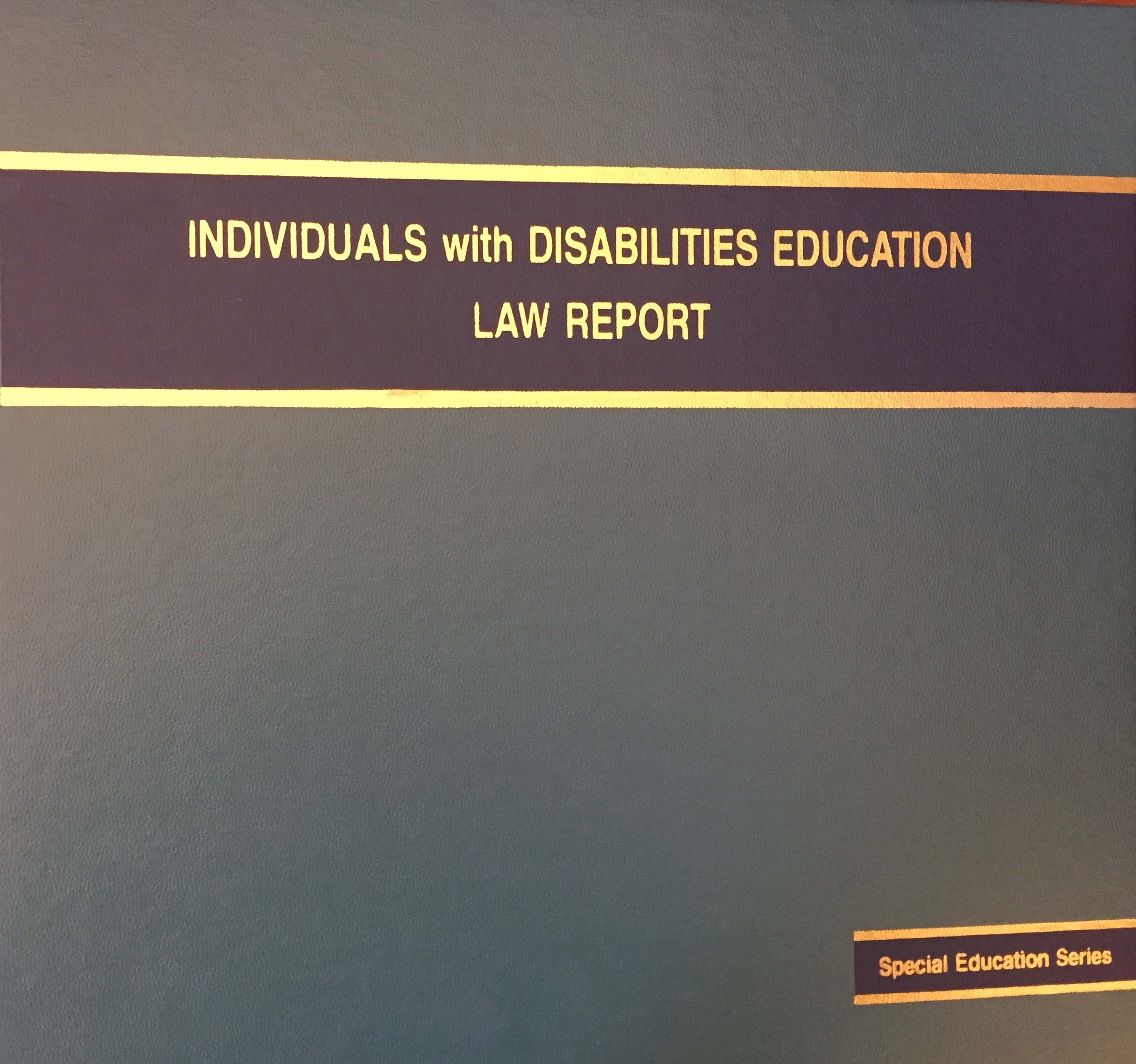 using this guide disability law research guides at harvard library individuals disabilities education law report special education series