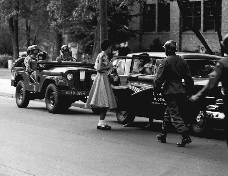 home hist american history since wmu research  civil rights in action the little rock nine