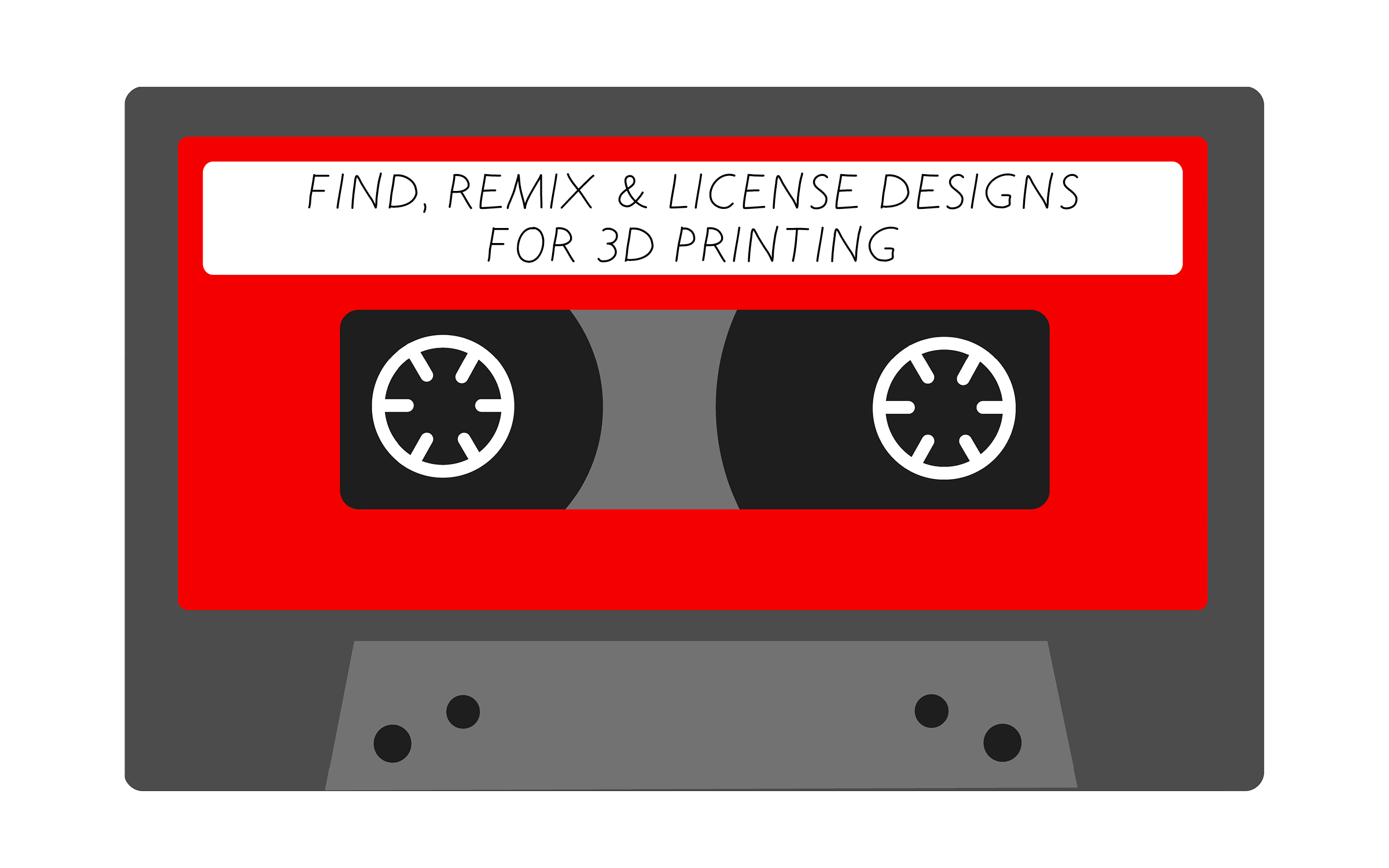 Find, Remix, & License Designs for 3D Printing
