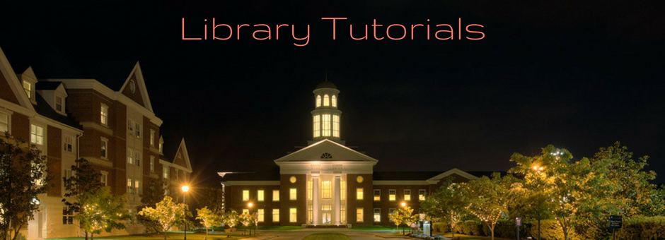 library tutorials