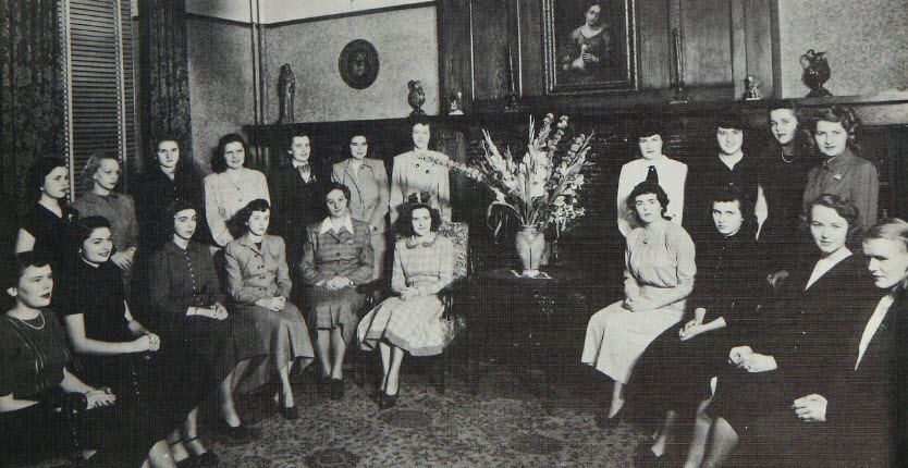 Future Social Workers, 1949 Towers Yearbook