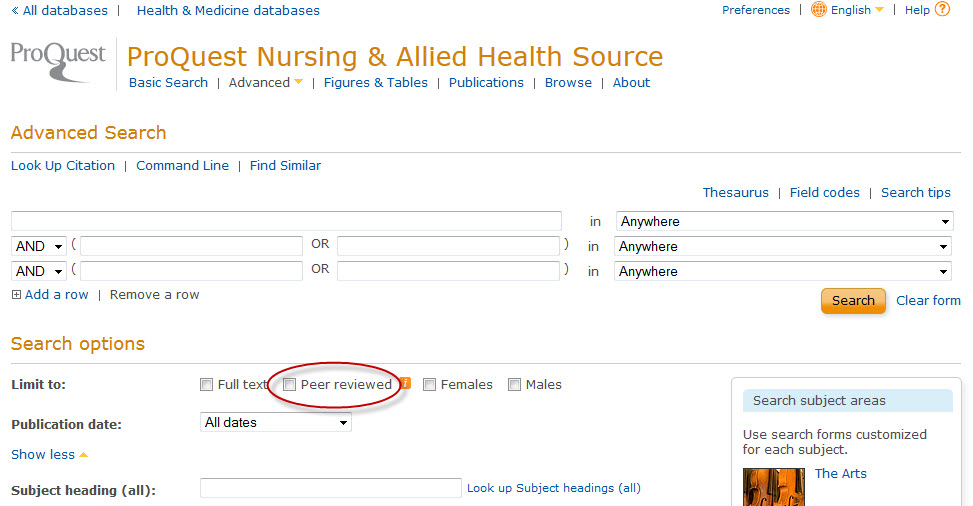 Articles - Health Information Management - CSSLibraryGuides