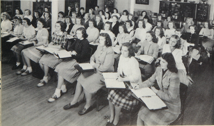 Future Social Workers, 1948 Towers Yearbook