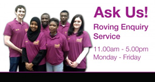 Roving Enquiry Service - 11am til 5pm Monday to Friday