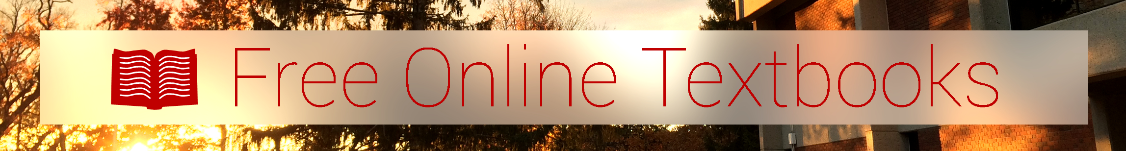 Free Online Textbooks