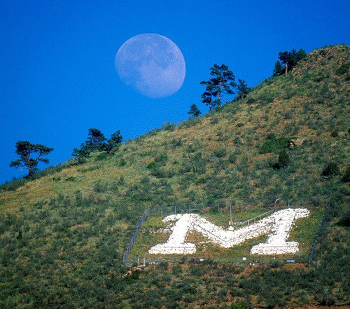 M and the Moon