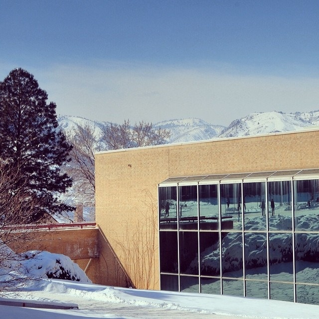 Arthur Lakes Library in Winter