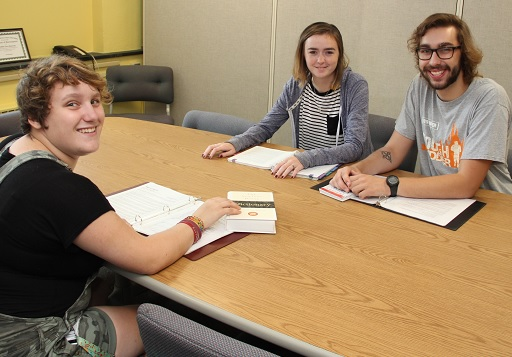 Students in the Center for Academic Excellence