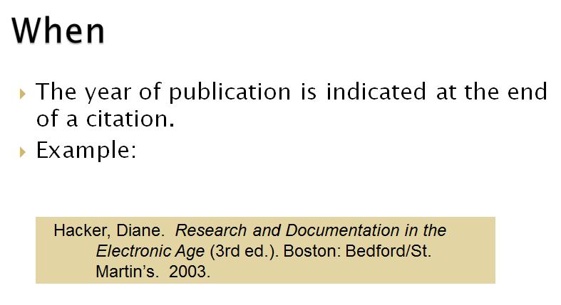More Book Citation - Creating MLA Style Citations - LibGuides at ...
