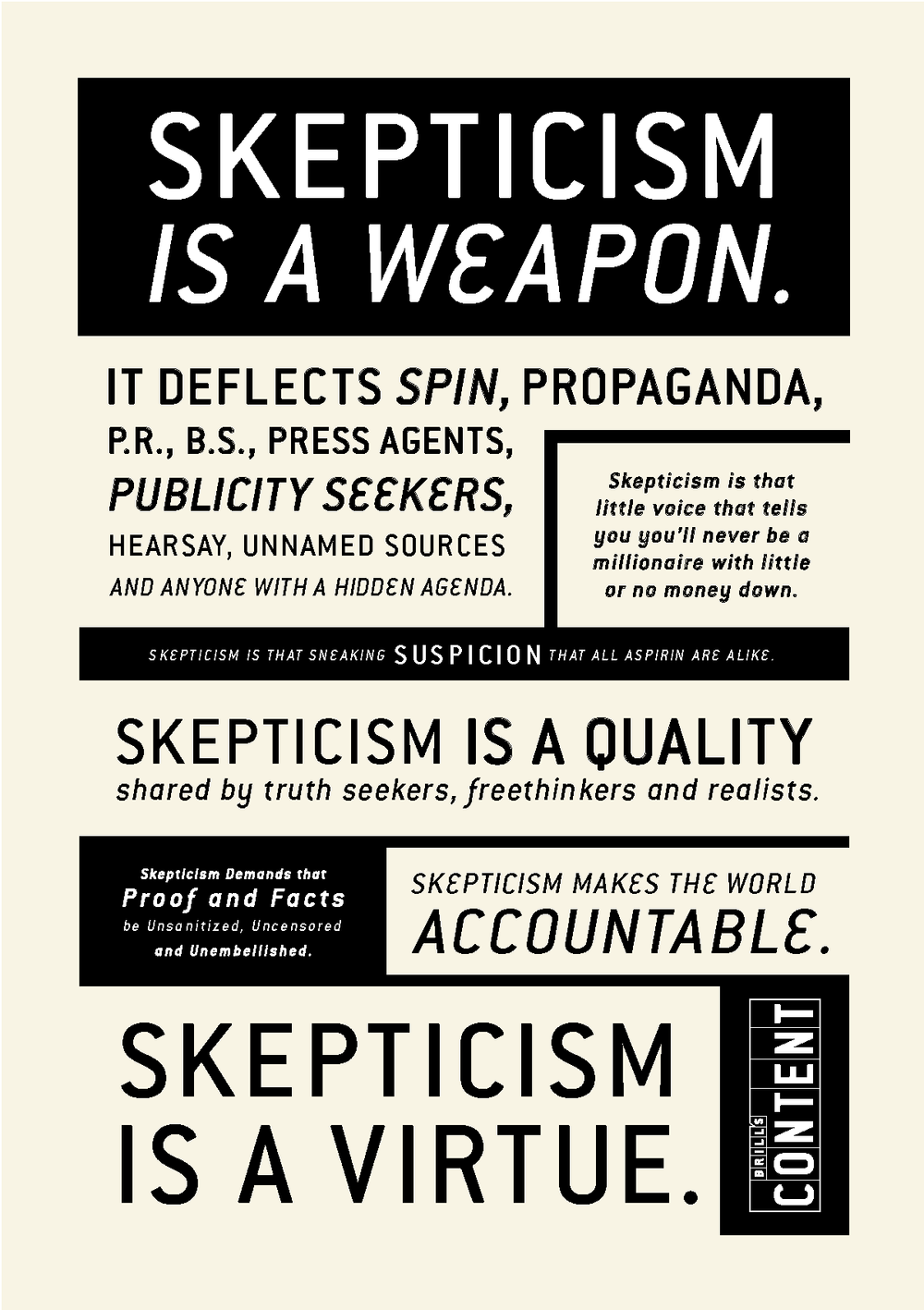 Be Skeptical It S Your Job Fact Checking Verification