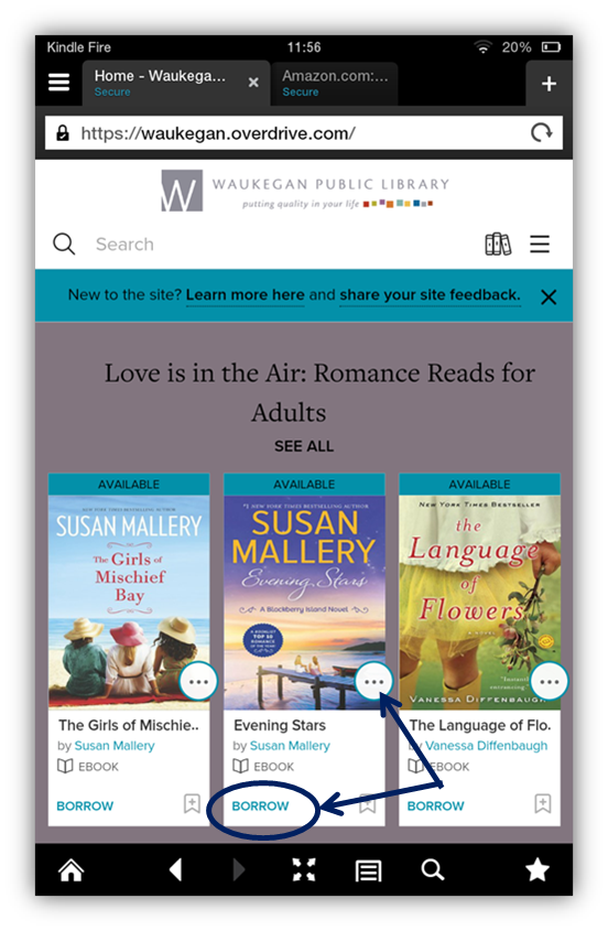 Kindle Fire - eBooks - LibGuides at Waukegan Public Library