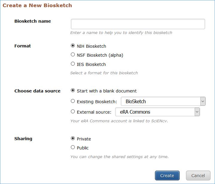 Nih Biosketch Nih Public Access Policy Compliance Libguides At