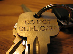 "Photo of key reading ""Do Not Duplicate"""