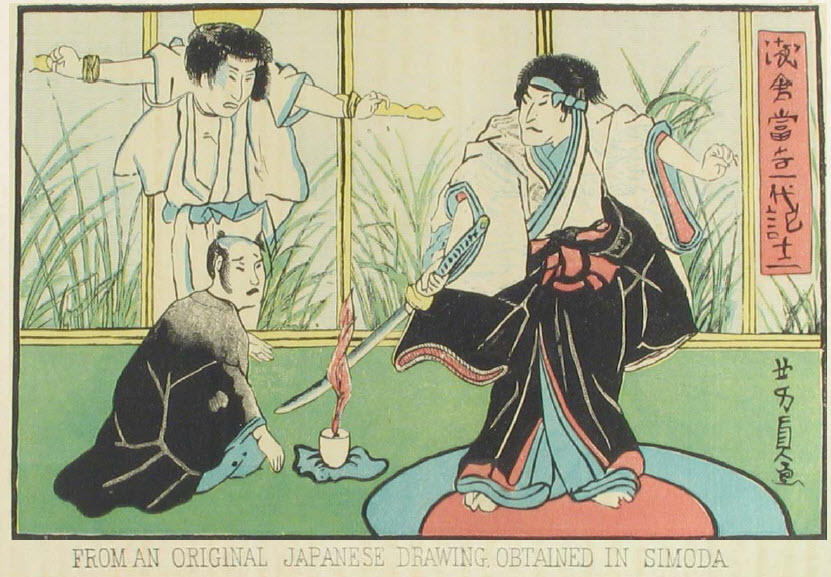 from an original Japanese drawing obtained in Simoda
