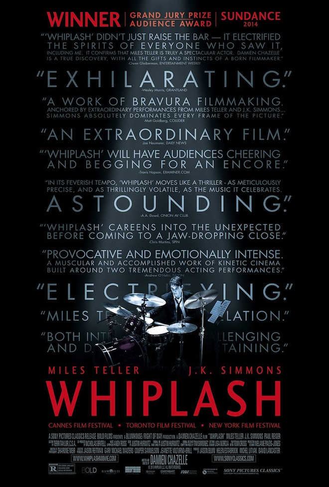 Whiplash movie poster
