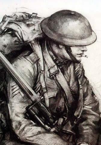 WWI Infantryman