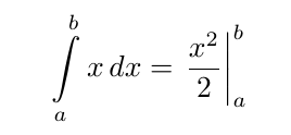 Image of an integral equation