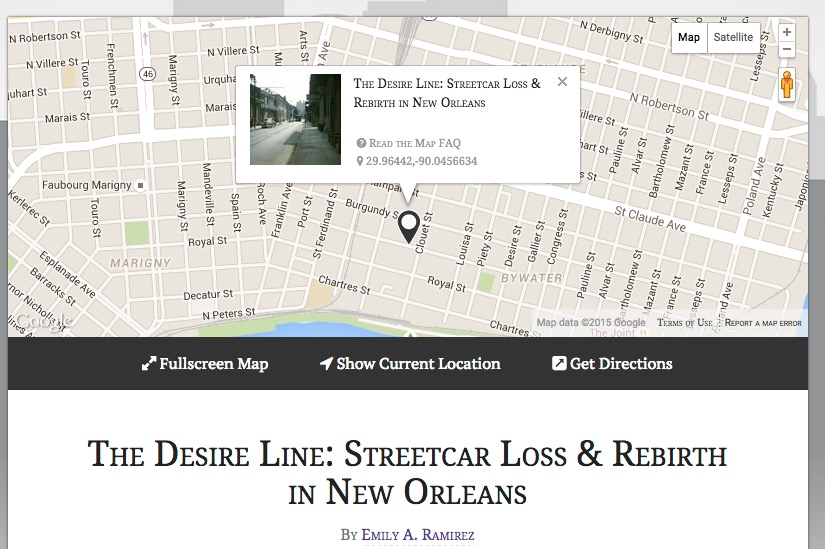 Streetcar In New Orleans Map.A Streetcar Named Desire Vce Literature Texts Library At