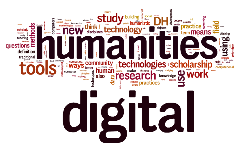 A Wordle relating to digital humanities