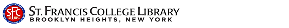 St. Francis College Library Logo