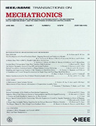 The cover of: IEEE/ASME Transactions on Mechatronics