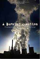 A Burning Question dvd cover