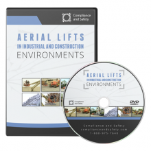 Aerial Lifts in Industrial and Construction Environments dvd cover