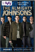 The Almighty Johnsons: Season 1 dvd cover