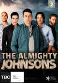 The Almighty Johnsons: Season 2 dvd cover