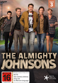 The Almighty Johnsons: Season 3 dvd cover