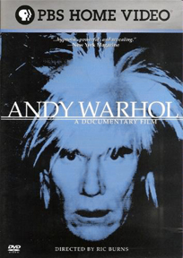 Andy Warhol: A Documentary Film dvd cover